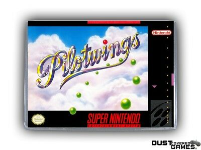Pilotwings SNES Super Nintendo Game Case Box Cover Brand New Pro Quality!!!