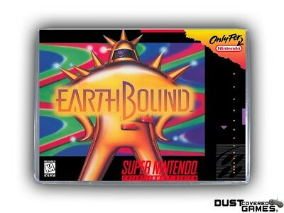 Earthbound SNES Super Nintendo Game Case Box Cover Brand New Pro Quality!!!