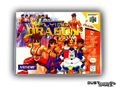 Flying Dragon N64 Nintendo 64 Game Case Box Cover Brand New Professional Quality