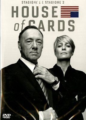 Serie Tv - House Of Cards - Stagione 01-02 - 8 Dvd