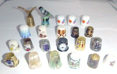 Lot of Thimbles Assorted All Are Not Hallmarked