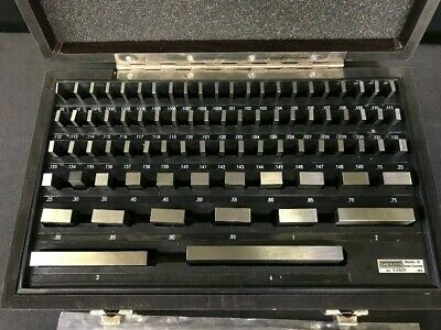 iM Gages 81 Piece Steel Gage Block Set 0.05 to 4""