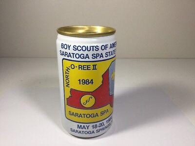 Vintage BSA Boy Scouts of America Soda Can Bank Saratoga County Council