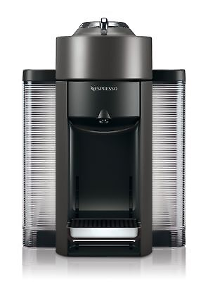 Nespresso Vertuo Evoluo Coffee and Espresso Machine by De'Longhi, Graphite Metal
