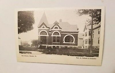 Early View - The Library - Chester, Vermont