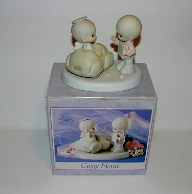 Precious Moments - 1991 - Going Home - G-Clef Mark - Mint In Box