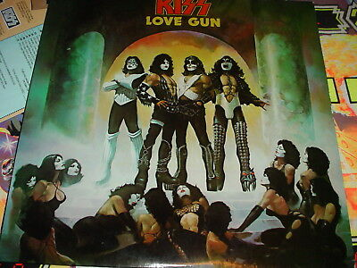 Kiss Love Gun lp 1977 complete