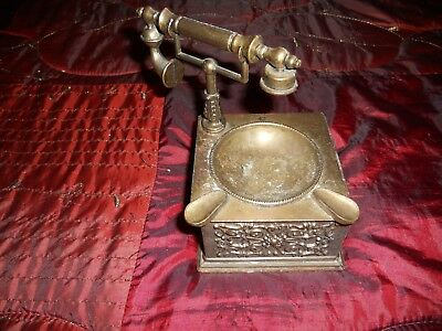 Vintage Ashtray Telephone Shape Handle
