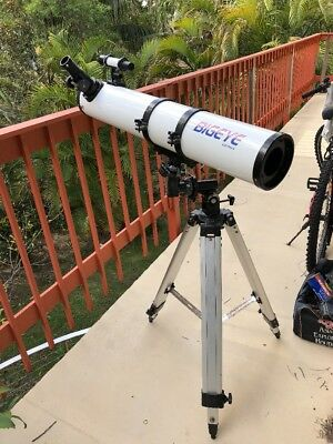 Bigeye Telescope 830 mm long 130 mm diameter with tripod