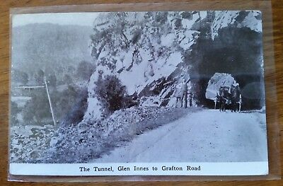 Postcard - The Tunnel, Glen Innes To Grafton Rd. B&w Gloss Photo From 1926