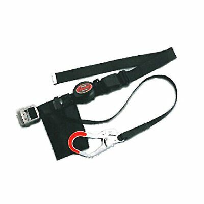 TOYO SAFETY NO-ARU-205-GY 2 Way Roll Up Safety Belt Gray Japan wit From japan