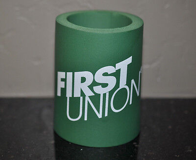 First Union Bank Roanoke, Va. Cup Koozie