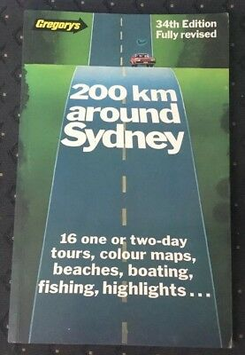Sydney Touring Guide … circa 1984 (a Different Sydney Compared To Today)