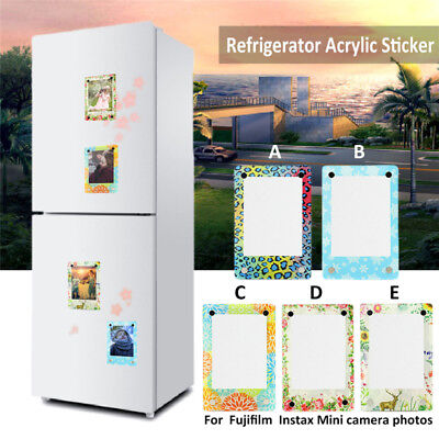 3 Inch Photo Frame Refrigerator Sticker For Fujifilm Instax Mini Camera Photos