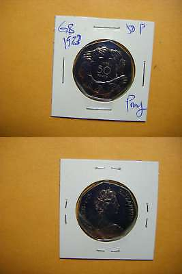3317 GB 1973 50 Pence Proof