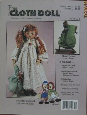 The Cloth Doll - Spring 1997 Vol. 12 No. 2 - Patterns Included with issue