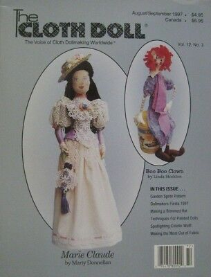 The Cloth Doll - August/September 1997 Vol. 12 No. 3 - Patterns Included