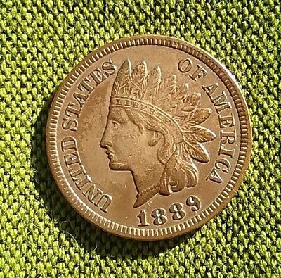 US 1889 Indian Head cent