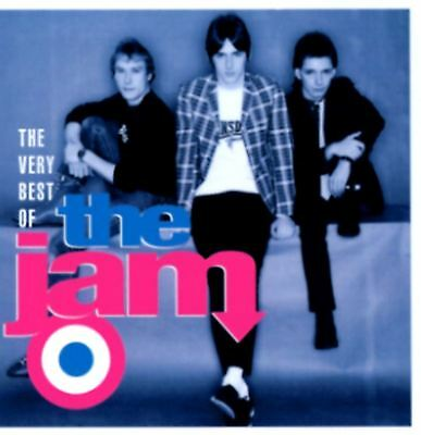 THE JAM very best of (greatest hits) (CD album, compilation) mod, new wave, punk
