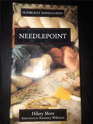SUNBURST HANDGUIDES, NEEDLEPOINT by Hilary More. Crochet, patchwork, needlework.