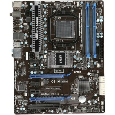 MSI 990FXA-GD65, AM3+ (plus), AMD (7640-030R) Motherboard