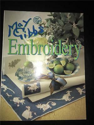Embroidery; May Gibbs BY ALISON SNEPP, embroidery, needlework, patchwork.