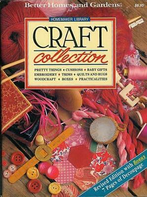 Better Homes and Gardens, CRAFT COLLECTION Book, Embroidery, Woodcraft, Quilts +