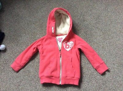 NEW WITH TAGS  CHILDS MEDIUM WHITE HOODIE ZIPPER FRONT BY FUNKY DIVA