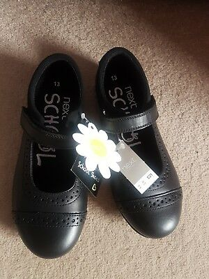 Bnwt Girls School Shoes Size 13 From Next