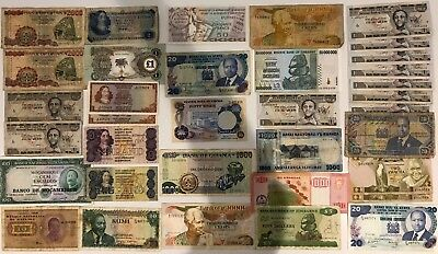 35 x Mixed Banknote Collection - Africa.  (2104)