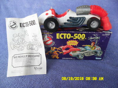 Vintage 1989 Kenner Real Ghostbusters Ecto-500 Race Car/Box/Instructions Only