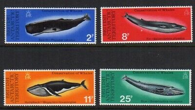 1977 British Antarctic Territories Whales MNH