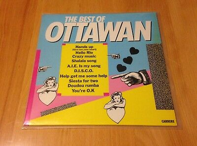 OTTAWAN - THE BEST OF Vinyl LP TOP ZUSTAND