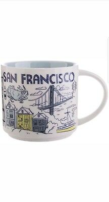 Starbucks Coffee Been There Series Mug 2018 SAN FRANCISCO Cup 14 oz New in box