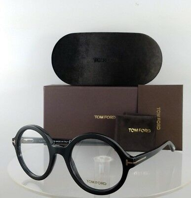 b4d9a38b75d6 Brand New Authentic Tom Ford Eyeglasses FT TF 5461 001 52mm Shiny Black  Frame