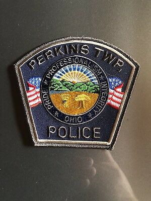 Perkins Twp, Ohio, Police Patch