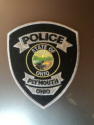 Plymouth, Ohio Police Patch