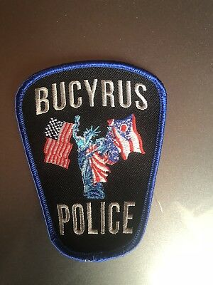 Bucyrus, Ohio Police Patch (Current Style)