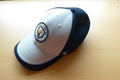 Manchester City F.C. Official & Licensed Adult Baseball Cap - Graphite Grey/Navy