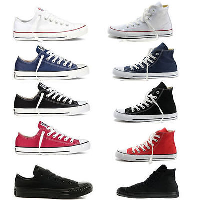 Hot ALL STARs Men's Chuck Taylor Ox Low High Top shoes casual Canvas Sneakers