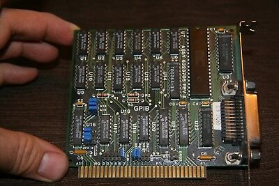 8 bit ISA GPIB XT 5160 PC card IEEE 488 interface