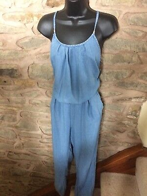 Zara Light Denim Jumpsuit 12