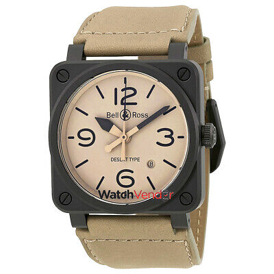 3195b9dcb0f BELL AND ROSS Vintage Heritage Black Dial Men s Watch BR126-HERITAGE ...