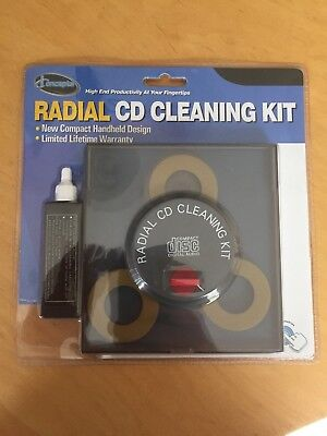 iConcepts Radial CD Cleaning Kit New SEALED NIB Unopened
