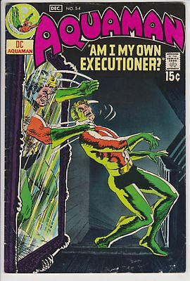 Aquaman #54 (Dec 1970, DC Comics) F Nick Cardy Cover Art Bronze Age            F