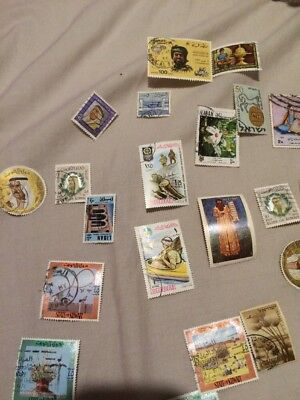 Mixed Middle East Stamps Approx 60