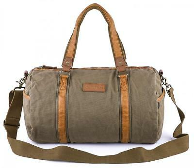 Gootium Canvas Duffel Bag - Travel Duffle Weekender Shoulder Bags Gym Tote d53f8eee1c5b7