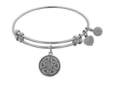 Angelica Collection Antique Smooth Finish Brass celtic Round Knot Expandable...