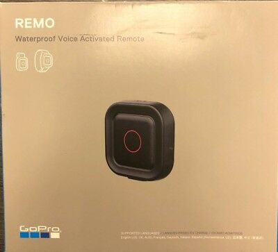 NEW GoPro Remo Voice Activated Remote for Hero5 Black/Session FREE Shipping!