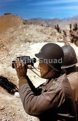 WW2 Picture Photo General George Patton at Field  2837